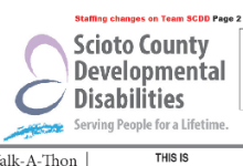 SCDD logo and newsletter mast