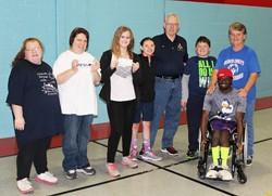 Aurora Lodge donates $4,040 to Special Olympics