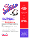 Self Advocacy Summer Series to Begin Thursday in Coal Grove