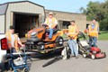 STAR, Inc., Charity Car Show Funds Purchase of New Mower by !MPACT